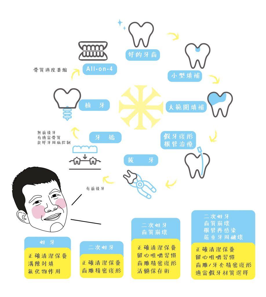 牙齒的生命故事