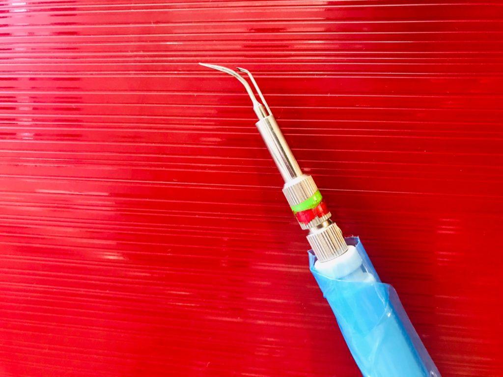 洗牙時使用的器具