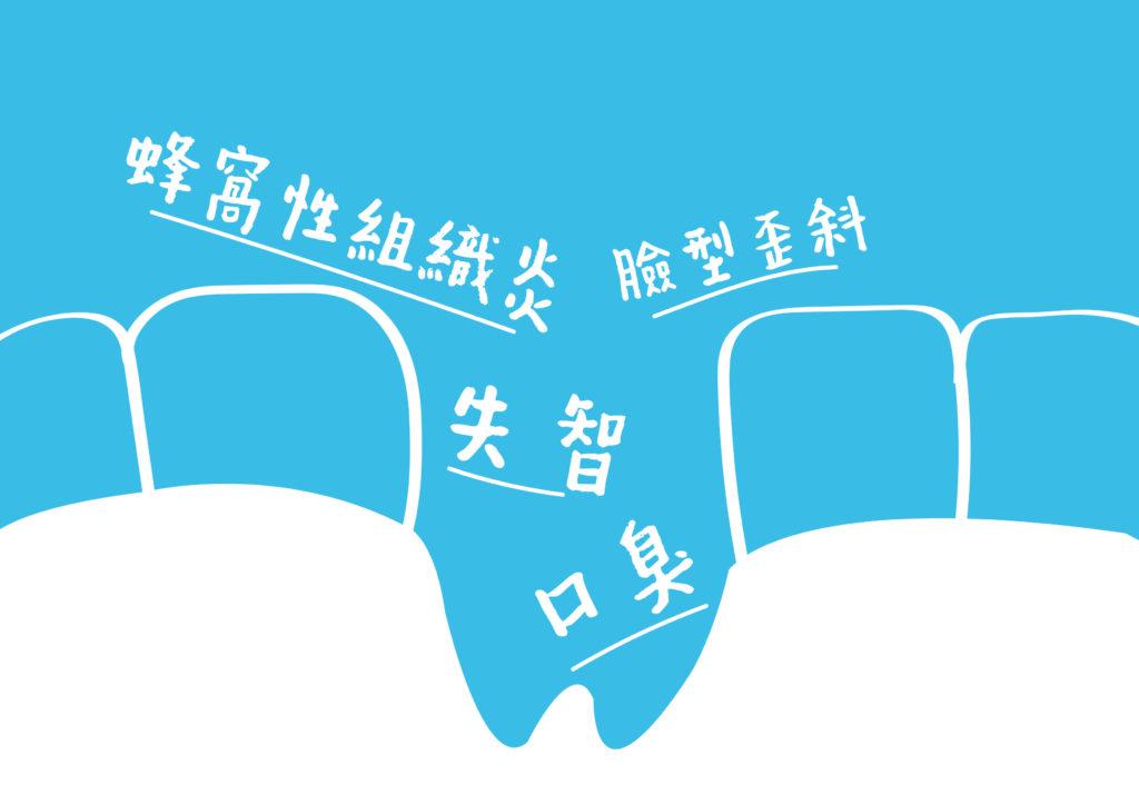 缺牙容易造成的問題